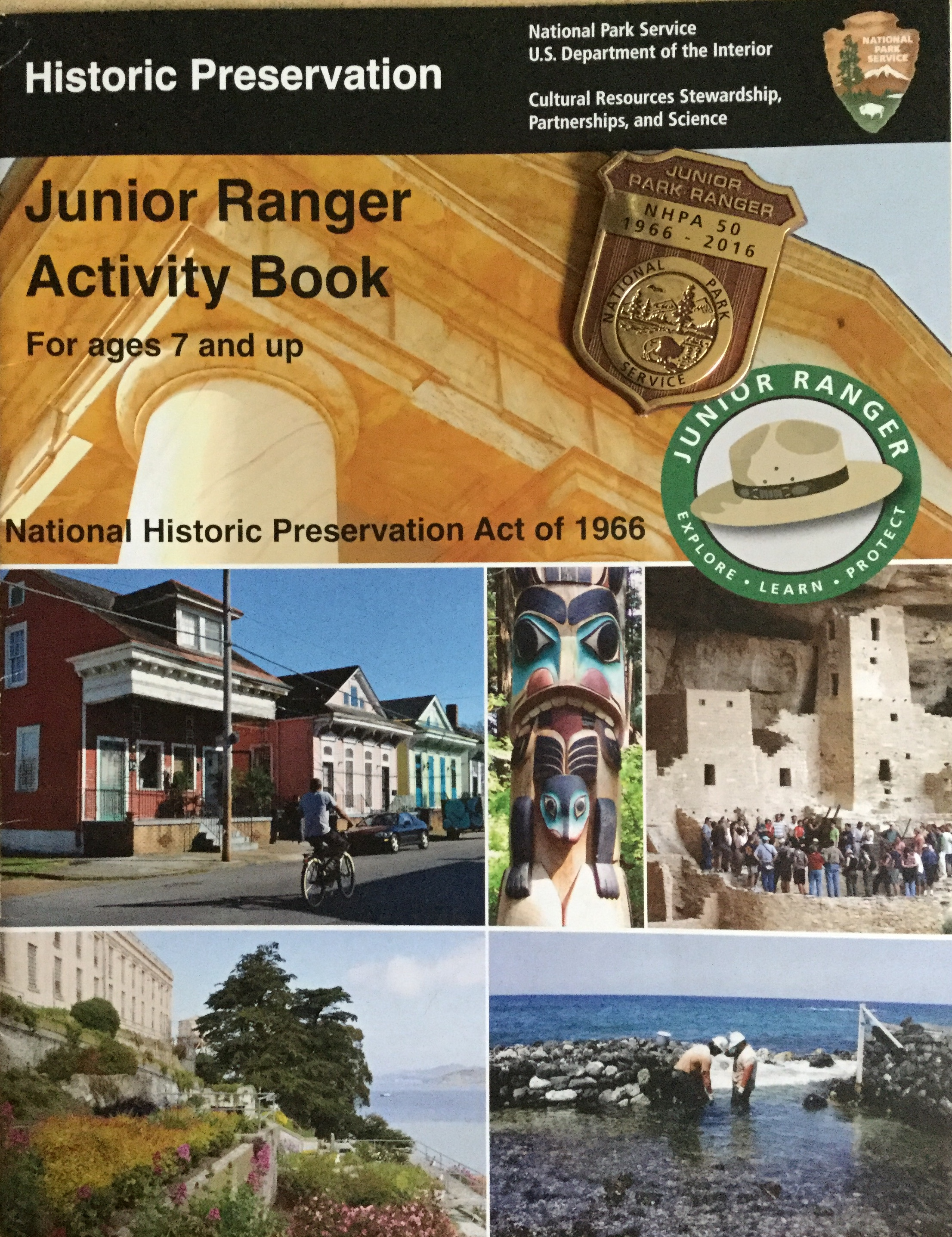50 Years Of Historic Preservation As Today April 6 2018 The Booklet Is Still Available Online However Badge May Not Be